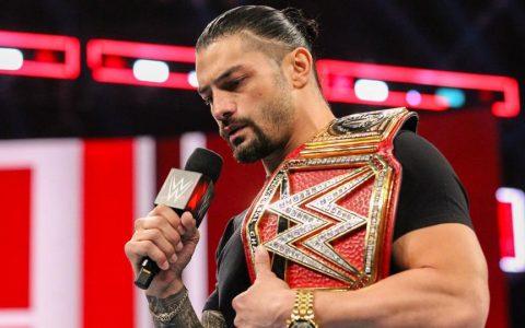WWE2018 RAW:罗曼雷恩斯白血病复发放弃WWE环球冠军头衔回家治疗