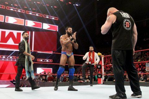 WWE2018RWA第1329期海曼叫嚣斯泰尔斯,大布狂虐金德马哈