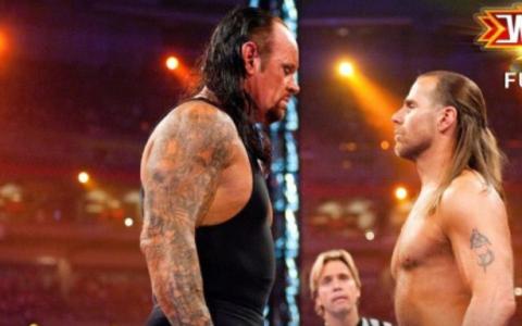 WWE2010摔跤狂热大赛 送葬者对阵肖恩迈克尔斯