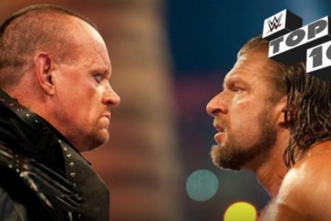WWE送葬者和HHH在WWE擂台上的十大精彩对决时刻