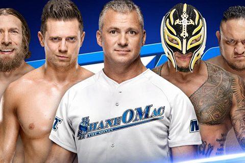 WWE SmackDown1004期贝基·林奇脑震荡退出幸存者大赛
