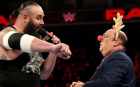 WWE2018RAW:保罗海曼为大布造势,嘴炮轰炸开始