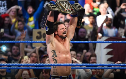 AJ斯泰尔斯即将续约WWE,不考虑AEW!AEW也不期望与其签约