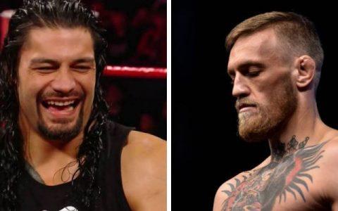 大帝罗曼嘲笑康纳麦格雷戈到WWE只能打205轻量级比赛