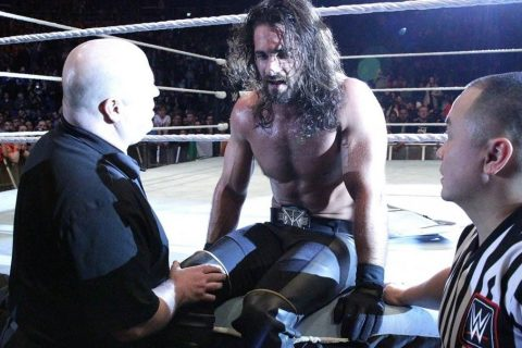 WWE超级巨星弑君者赛斯·罗林斯亲口证实背部有伤