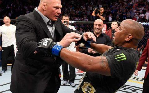 布洛克莱斯纳与UFC重量级冠军丹尼尔科米尔比赛已基本确定