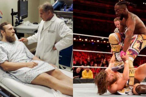 WWE对丹尼尔布莱恩的伤情严加保密