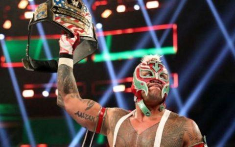 WWE全美冠军头衔再次悬空, 神秘人雷尔儿子将代父出征