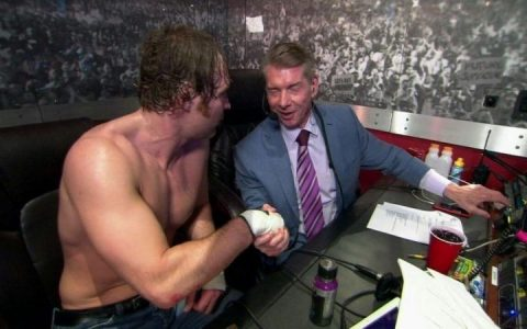 乔恩·莫斯利离开WWE前已和老麦结下不共戴天之仇