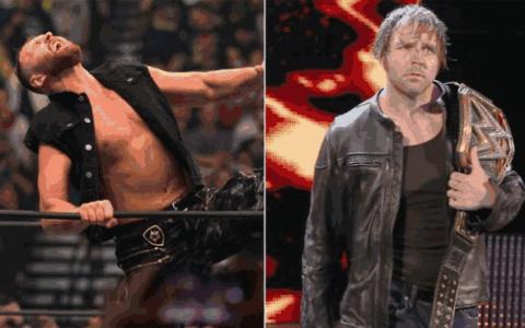 "AEW克里斯杰里科VS肯尼欧米伽,前WWE超级巨星""迪安布罗斯""突然出场"