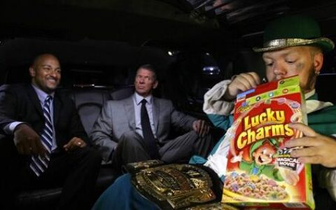 前主席老麦的私生子解释WWE中的生存之道