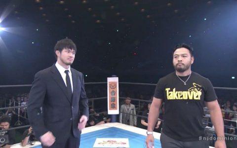 NXT悲情人物伊丹英雄正式首秀NJPW