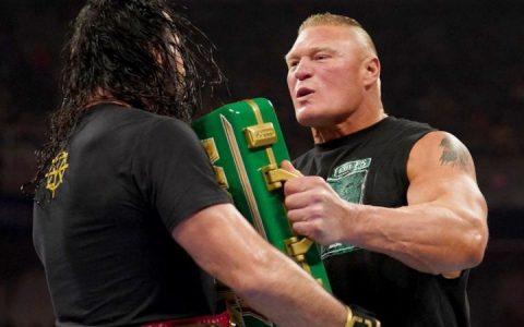 官方宣布:布洛克莱斯纳将兑现WWE环球冠军却遭粉丝吐槽