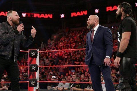 AEW新院长乔恩莫斯利表示HHH才是WWE的唯一救世主