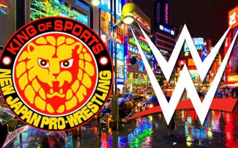 新日摔联盟NJPW嘲讽RAW没有摔角比赛可看