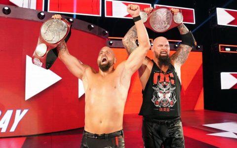 WWE新双打冠军OC俱乐部成为WWE全冠军派别之一