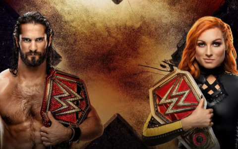 WWE极限规则大赛2019:赛斯罗林斯&贝基林奇VS.科尔宾&埃文斯,布洛克莱斯纳兑换合约包