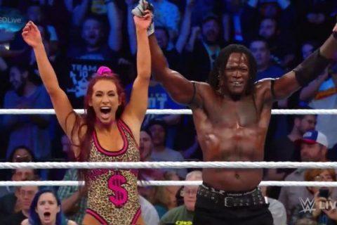 WWE247冠军柱子哥再现天秀表演引来众星模仿