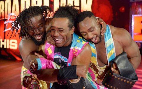 WWE全冠组合新一天将继续挑战更多的单打冠军