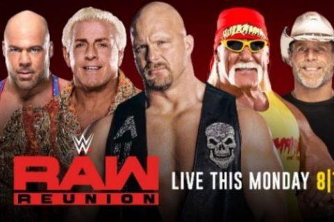 WWE下周RAW老干部重聚准确名单你的偶像还在吗