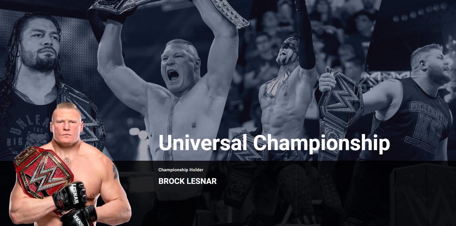 WWE环球冠军腰带