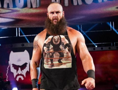 "WWE""人间怪兽""布朗斯图曼表示想参加铁笼密室淘汰赛,并且向肖恩麦克曼发起警告"