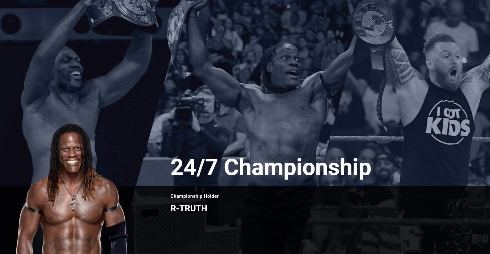 WWE 247/冠军腰带