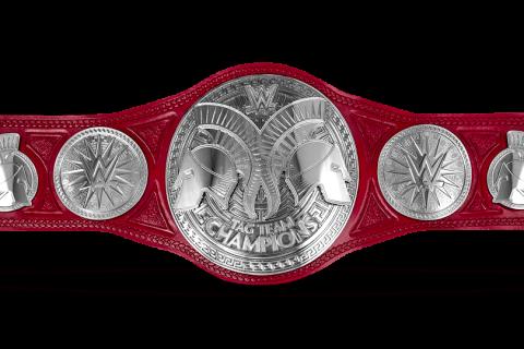 WWE Raw双打冠军腰带