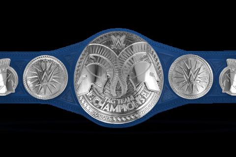 WWE SmackDown双打冠军腰带