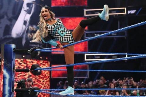 WWE个性美女卡梅拉透露二柱子私下啥样:稀里糊涂我就转回正派了