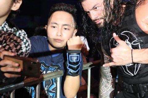 2019年9月21日WWE中国上海现场秀精彩照片