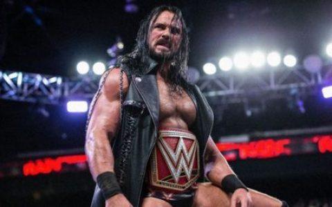 """摔角界新名词""""德鲁·麦金泰尔式冠军"""",WWE对德鲁的推举称得上失败吗?"""
