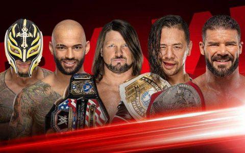 揭露明天WWE RAW节目表莎夏班克斯和众多冠军皆出战
