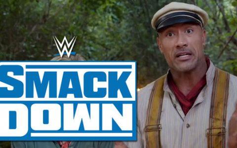 巨石强森可能会在WWESmackDown的福克斯首映中出场!
