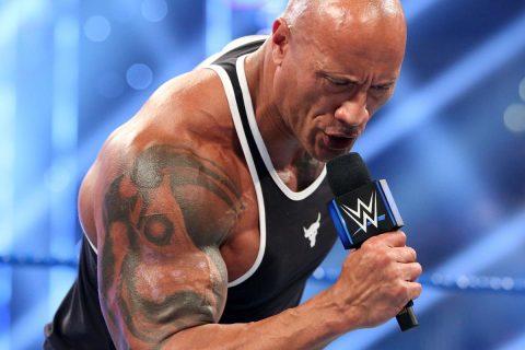 "Smackdown Fox首映后巨石强森会出席明日的WWE""地狱牢笼大赛""吗?"