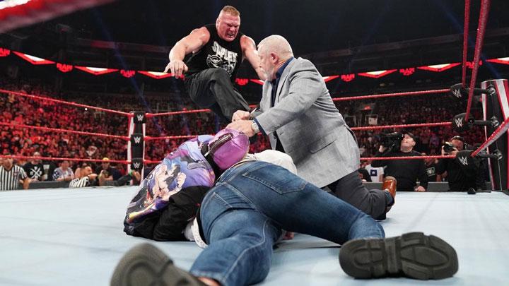 WWE为凯恩剧情设计成型,凯恩愿意在WWE与布洛克进行决斗吗?