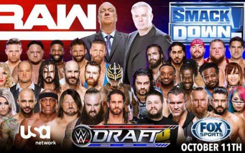 WWE2019明星转会大抽签预测,你期望你偶像去哪里?