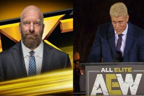 AEW双杀NXT连续两周周三收视战争完胜