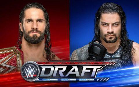 WWE罗曼和罗林斯将决定两大阵容的第一选秀权