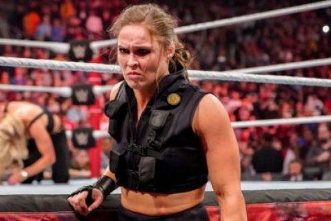娜塔莉亚和神秘摔角手集训,隆达·罗西可能性最大!