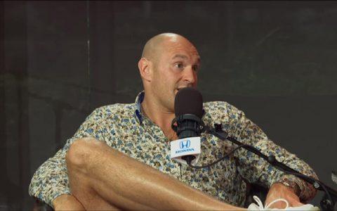 WWE泰森富里:我终生是WWE粉丝,我的梦想将要实现!