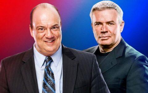 """爆炸新闻:WWE大改革""""保罗海曼""""和""""毕雪夫""""执政WWE两大主阵"""