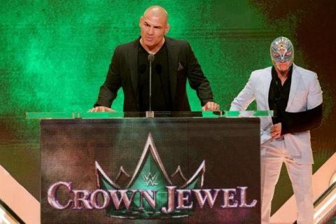 WWE整容院长凯恩维拉斯奎兹再次声明,再动我家人一下试试?