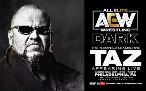 前WWE御用解说员泰兹正式加盟AEW与JR重聚