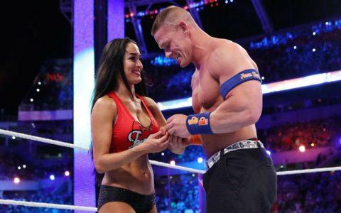 约翰塞纳即将与前女友尼基贝拉重聚SmackDown二十周年庆?