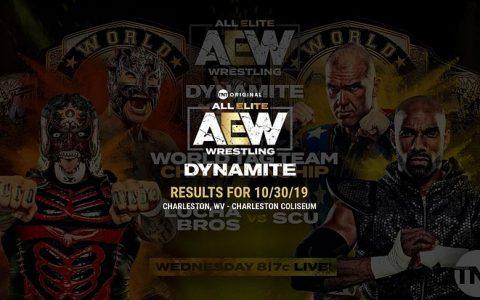 AEW《Dynamite》比赛 2019.10.31