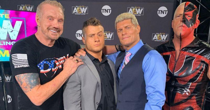 WWE名人堂成员钻石王老五DDP解释为何不敢与AEW签约