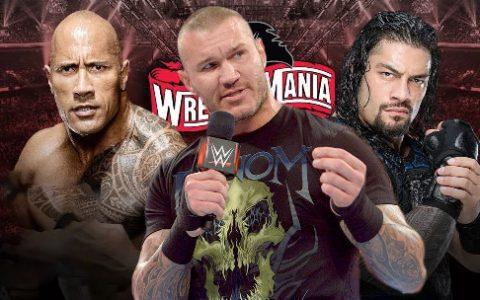 兰迪奥顿约战巨石强森想要在《WWE摔跤狂热大赛36》一决高低