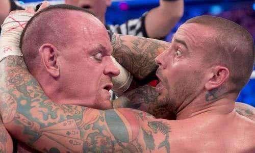 CM朋克和送葬者WWE