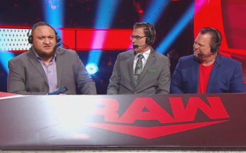 """搓澡工萨摩亚·乔为何被WWE公司一直""""按在""""解说席"""